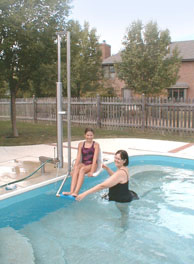 aquatic lifts for pools and spas